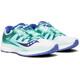 saucony Triumph ISO 4 Hardloopschoenen Dames wit/turquoise